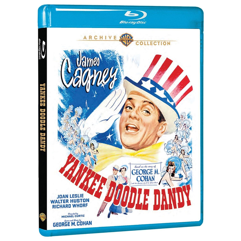 Amazon Yankee Doodle Dandy Blu Ray James Cagney Joan Leslie Walter Huston Richard Whorf Irene Manning Jeanne George Tobias