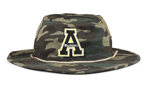 3185e2b9 Cowbucker Collegiate Boonie Hat   Officially NCAA Licensed (OSFA,  Appalachian State Camo)
