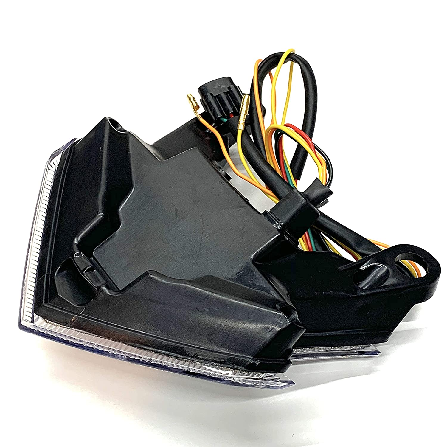 Clear LED Tail Light w//Integrated Turn Signals For Kawasaki Z125 ZX-6R Z800