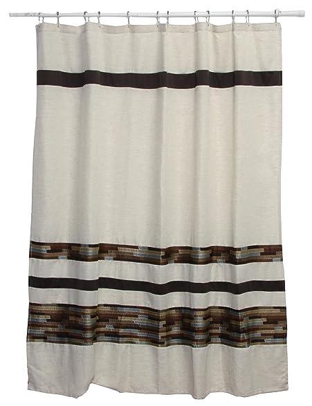 Amazon.com: Bacova Guild Dresden Fabric Shower Curtain: Home & Kitchen