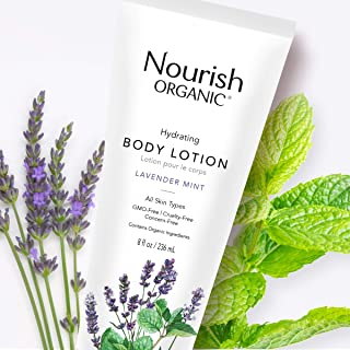 product image for Nourish Organic | Hydrating Body Lotion - Lavender Mint | GMO-Free, Cruelty Free, Organic (8oz)