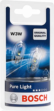 Bosch Lampes Pure Light W3W 12V 3W x10