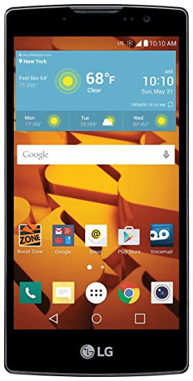Amazon Com Lg Volt 2 No Contract Boost Mobile Cell Phones