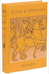 Iliad & Odyssey (Leather-bound Classics) Leather Bound
