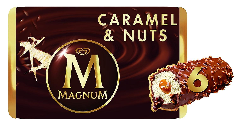Magnum Caramel & Nuts Helado - 6 Helados: Amazon.es: Alimentación y bebidas