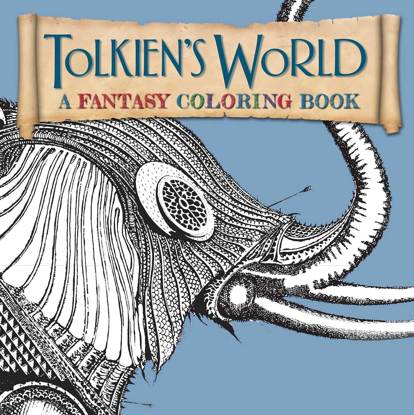 Tolkiens World Adult Coloring Book A Fantasy Amazoncouk Ian Miller Allan Curless Mauro Mazzara 9781626865556 Books