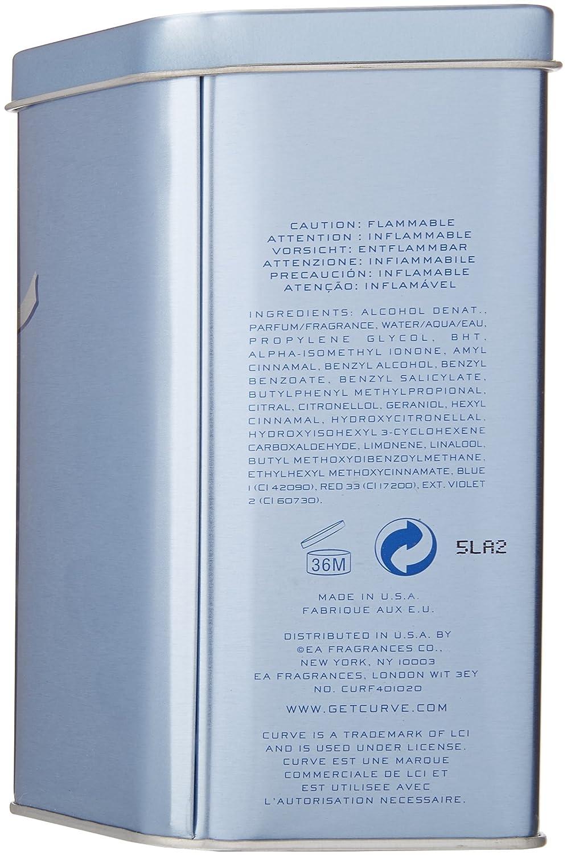 amazon com curve by liz claiborne for women eau de toilette spray