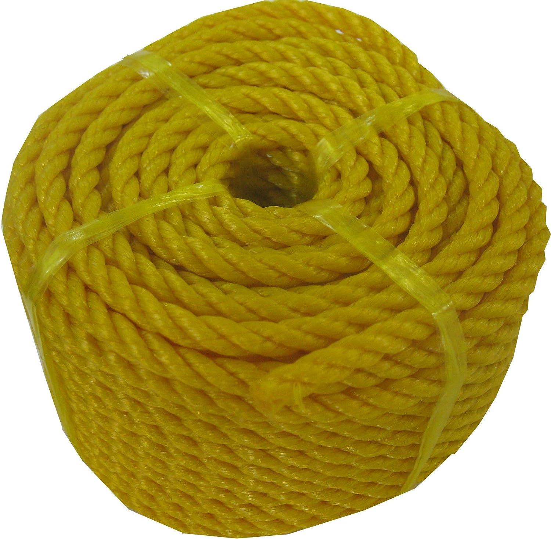 orange CON:P Mehrzweckseil Polypropylen 20 m 6 mm B34082