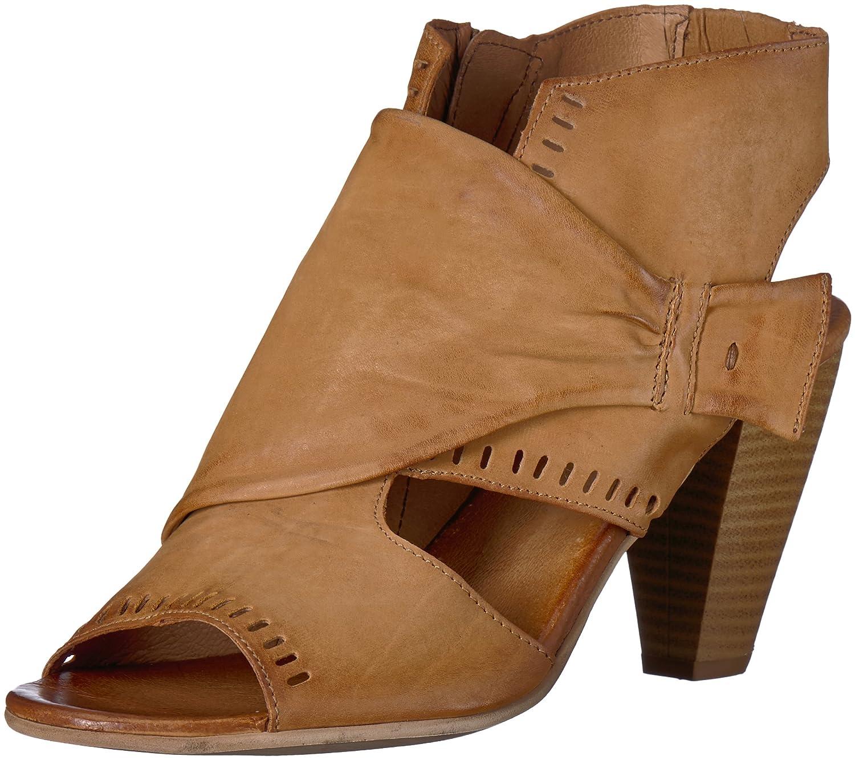Miz Mooz Women's Moonlight Heeled Sandal B075K5WXVH 37 M EU (6.5-7 US)|Wheat