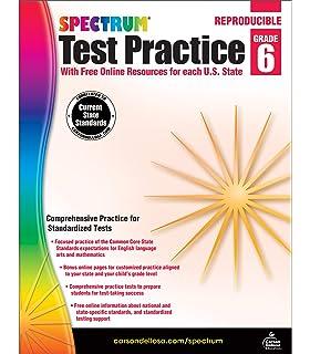 Spectrum:Science Test Practice Gr 6: Amazon ca: Spectrum: Books