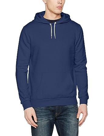 74f03adc68c35 New Look Basic Oth Hoody Ss17 Sweat-Shirt à Capuche, Bleu (Indigo 42