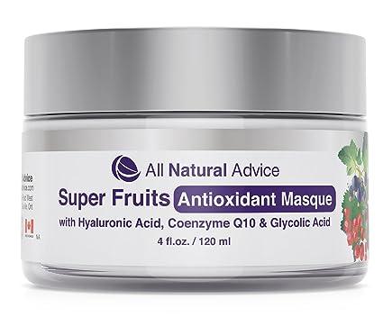 Super frutas antioxidante Masque limpieza facial máscara para hombres y mujeres | canadiense Made | orgánico
