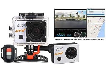 Denver ACG-8050W Full HD cámara para Deporte de acción: Denver: Amazon.es: Electrónica