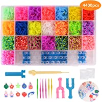 FORMIZON Loom Bands, 4400 Kit Completo, 22 Colores