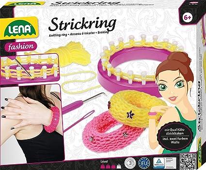 Lena 42526 Strickset Mit Strickring Komplettset Zum Stricken