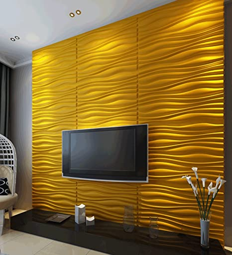 Inreda 3D Wall Panels Dining Room Living Room Bedroom Feature Wall Decor (3  Square Metres