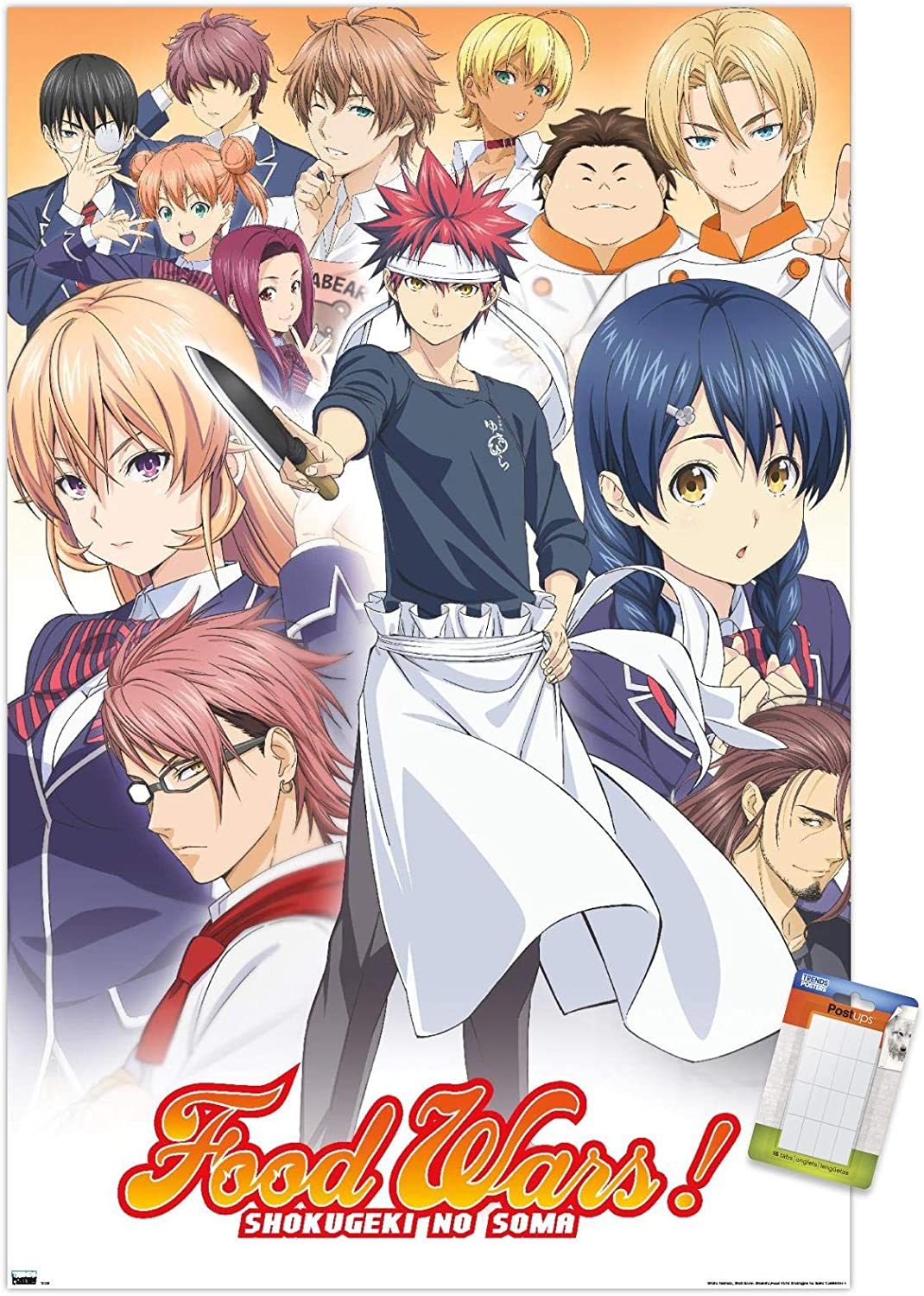 Trends International Food Wars-Group Wall Poster, 22.375