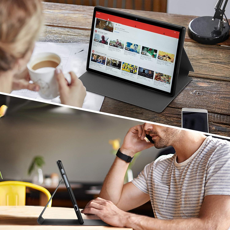 Ultra Sottile con Funzione di Supporto Custodia Protettiva in Pelle PU EasyAcc Custodia Cover Compatibile con Tablet TECLAST P20//P20HD TECLAST M40 10.1 Grigio