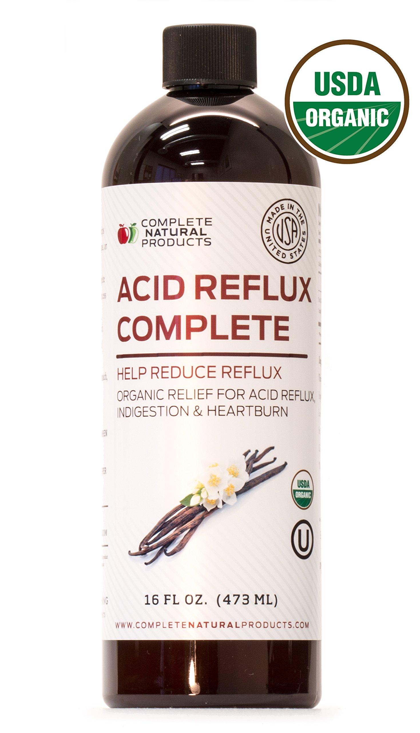 Acid Reflux Complete 16oz - Natural Organic Liquid Heartburn, GERD, Amish Reflux Relief Remedy & Medicine