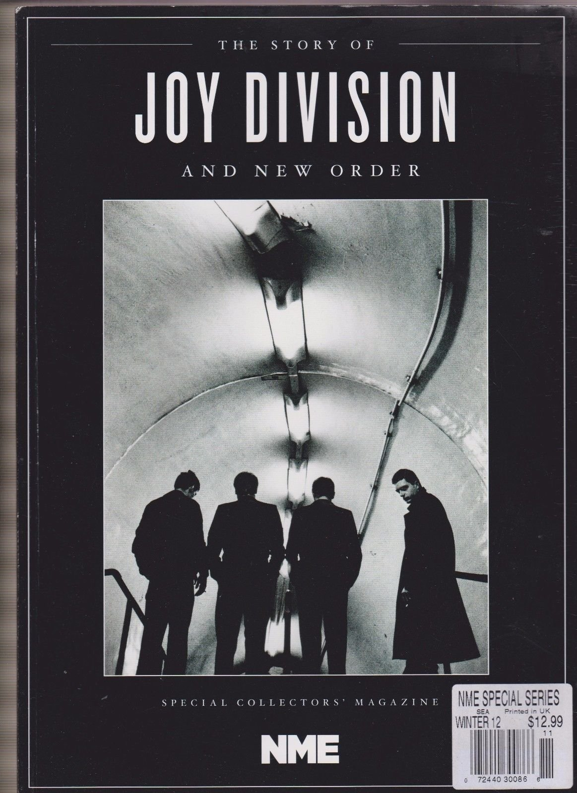 NME MAGAZINE SPECIAL COLLECTOR'S EDITION JOY DIVISION & NEW ORDER 2012