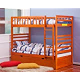 Amazon Com Full Size Attached Bed Slats Bunkie Boards