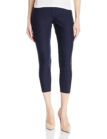 0ad458a0584ff HUE Women's Essential Denim Capri at Amazon Women's Clothing store: