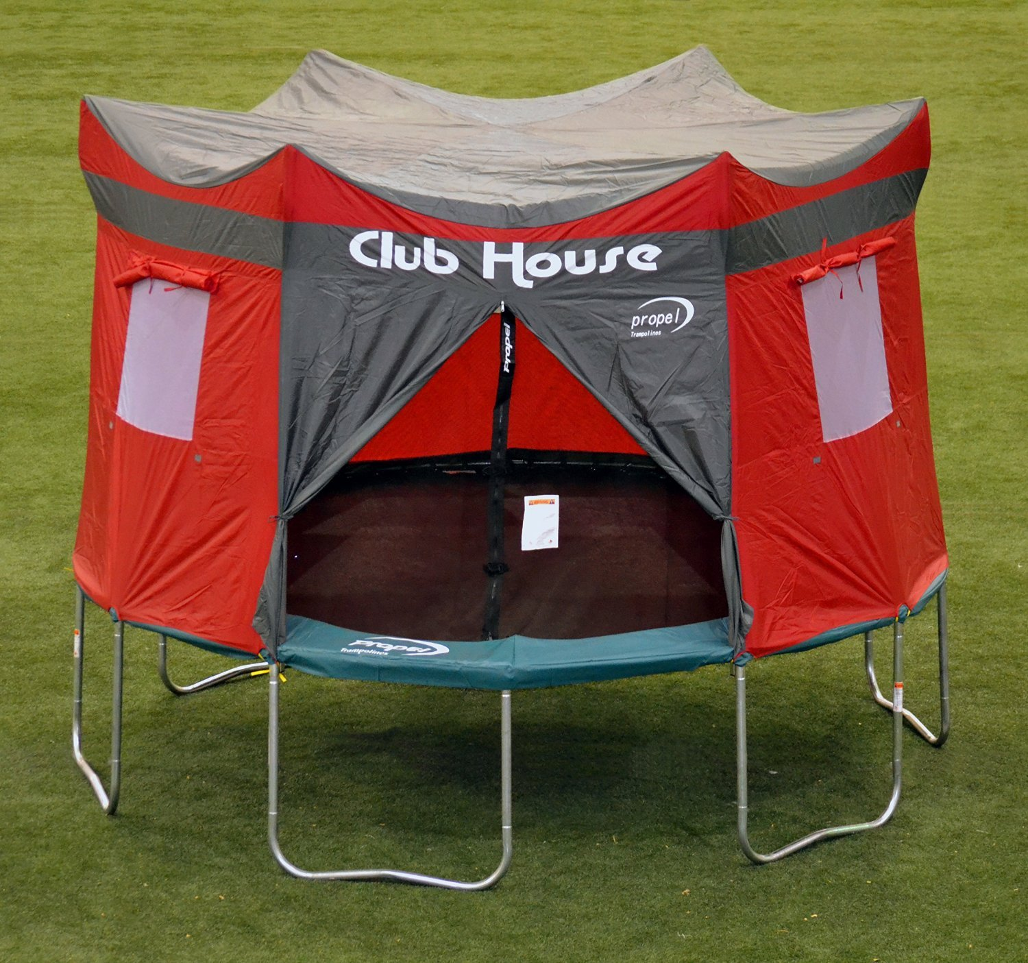 Clubhouse Tent Accessory Kit for Propel 12' Trampoline with 6 pole enclosure - TENT ONLY by Propel (Image #4)