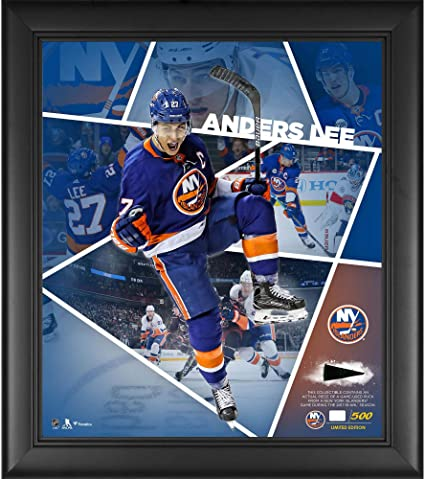 Anders Lee New York Islanders Framed 15 quot  x 17 quot  Impact Player  Collage with a 7a8868b76