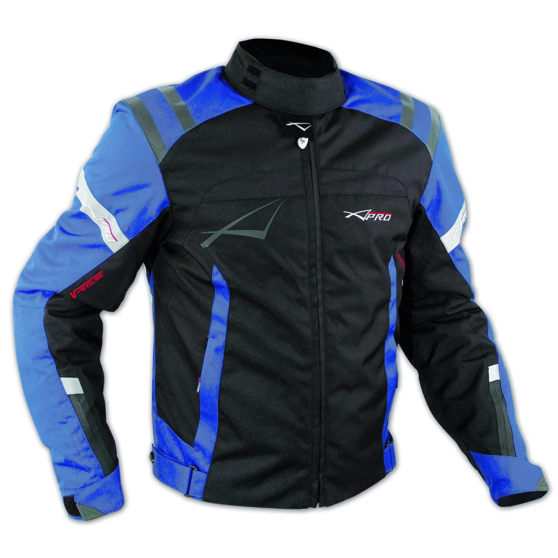 Blouson Textile Motard Sport Protections Doublure Hiver Moto Touring noir XL