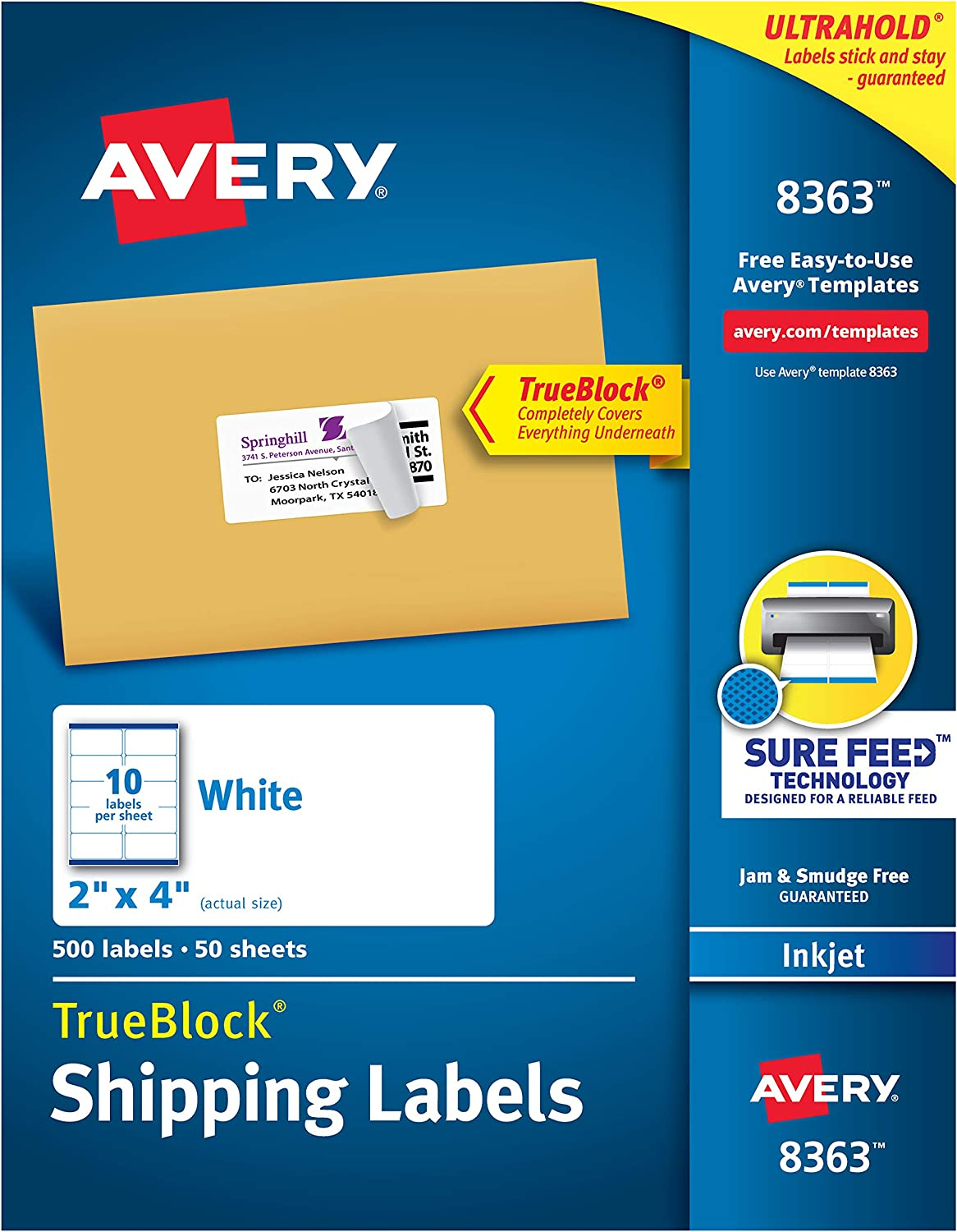 Avery Labels 2X4 Template from images-na.ssl-images-amazon.com