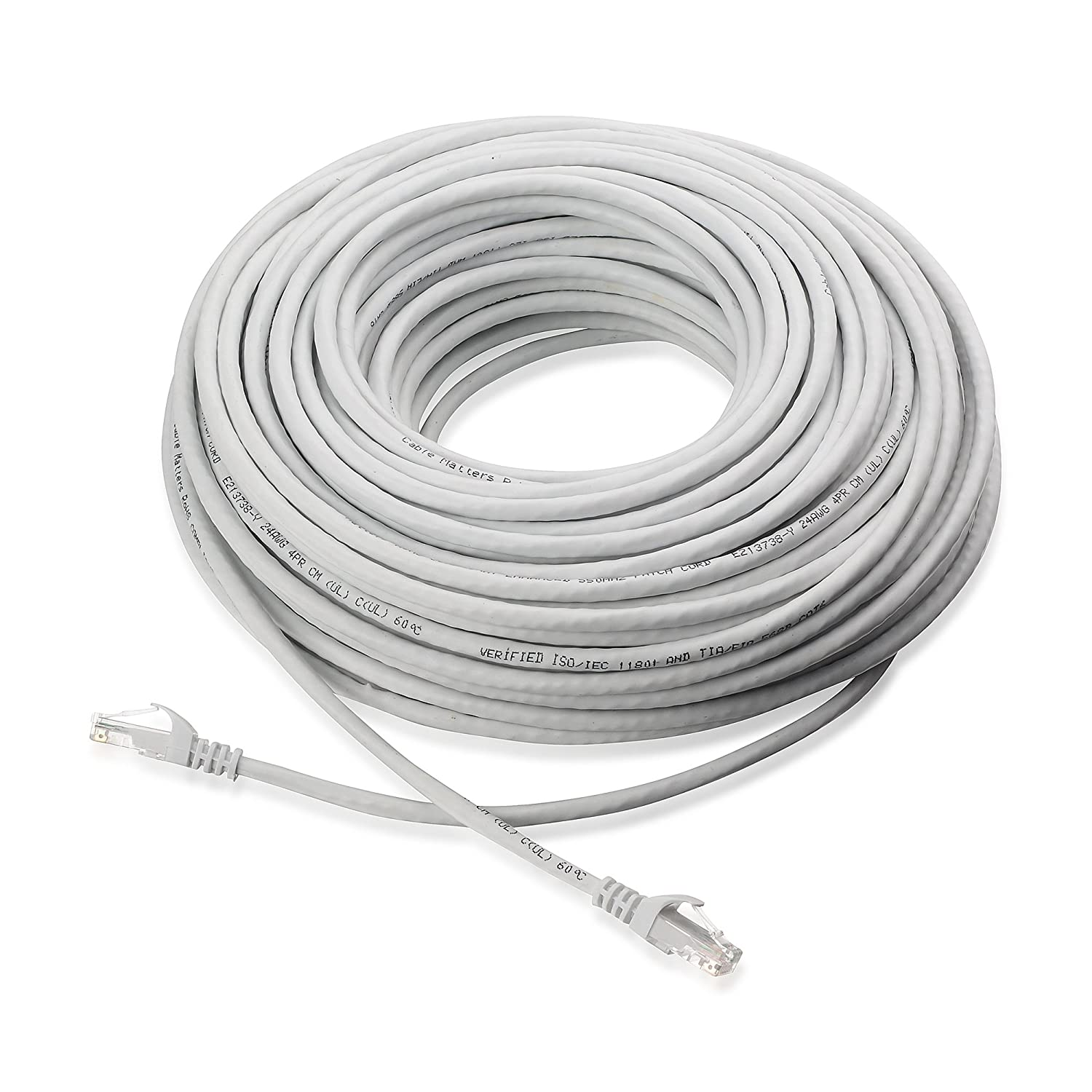 Amazon.com: Cable Matters Snagless Cat6 Ethernet Cable (Cat6 Cable ...