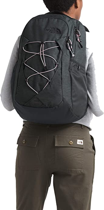 Amazon.com: The North Face Women's Jester Backpack, Asphalt Grey Light Heather/Ashen Purple, One Size: Clothing