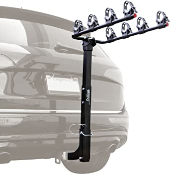 Critical Cycles Lenox 4-Bike Hitch Mount Rack with 2-Inch Receiver