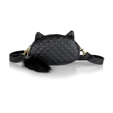 Amazon.com: Bonito paquete de cintura para gato con diseño ...