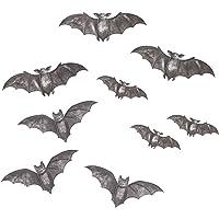 Martha Stewart 30034331 Calcomanías de vinilo para ventana, de murciélago de Halloween, Negro, 12, 1, 1