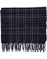 amicale mens 100% cashmere winter scarf