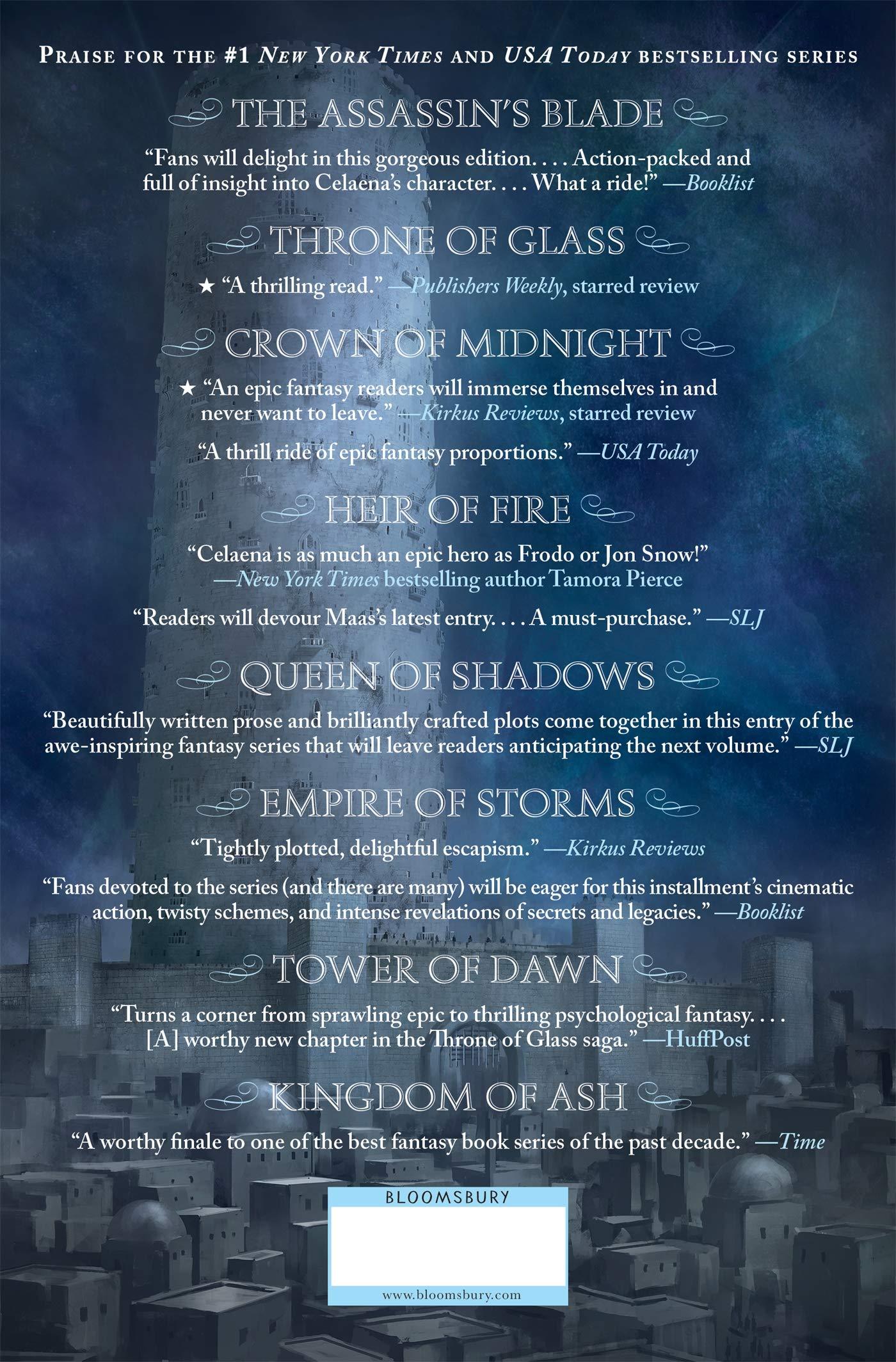 Amazon Com Tower Of Dawn Throne Of Glass Throne Of Glass 6 9781681195773 Maas Sarah J Books