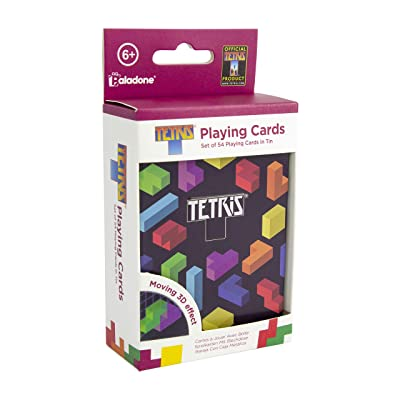 Paladone Tetris Lenticular Playing Cards - Retro Gaming Collectable - Officially Licensed Merchandise: Toys & Games
