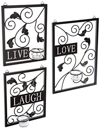 Ordinaire Live, Love, Laugh Wall Decor