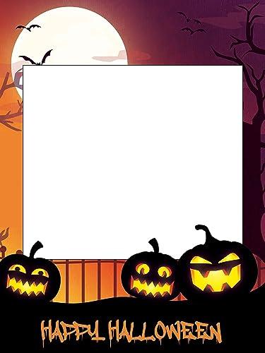 amazon com large custom halloween photo booth frame sizes 36x24