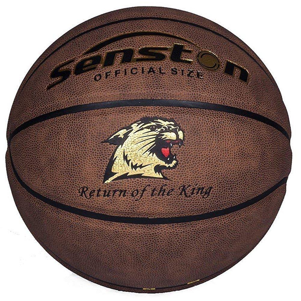 Senston Adulto Pelota de baloncesto Outdoor Balón de baloncesto para adultos tamaño 7