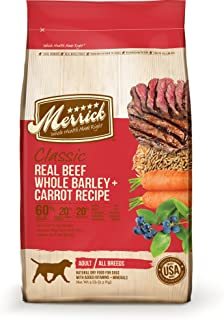 product image for Merrick Classic Beef Whole, Barley & Carrot - 15 lbs