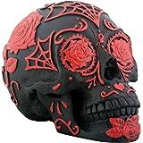 Black and Red Tattoo Sugar Skull