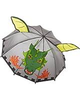 Kidorable Little Boys' Grey Dragon Knight Umbrellas