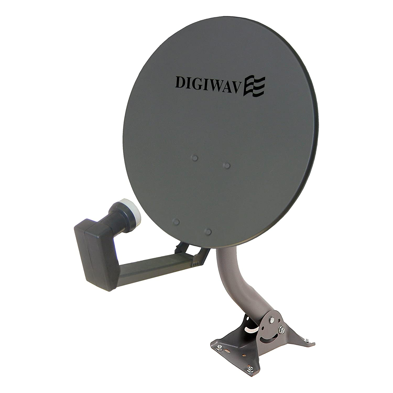 Digiwave 18-Inch Offset Satellite Dish DWD45T