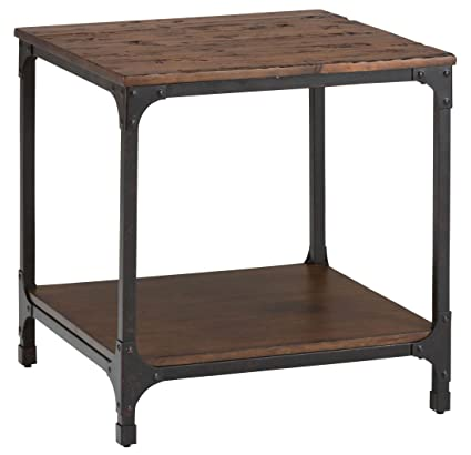 Jofran Urban Nature Wood Square End Table In Pine