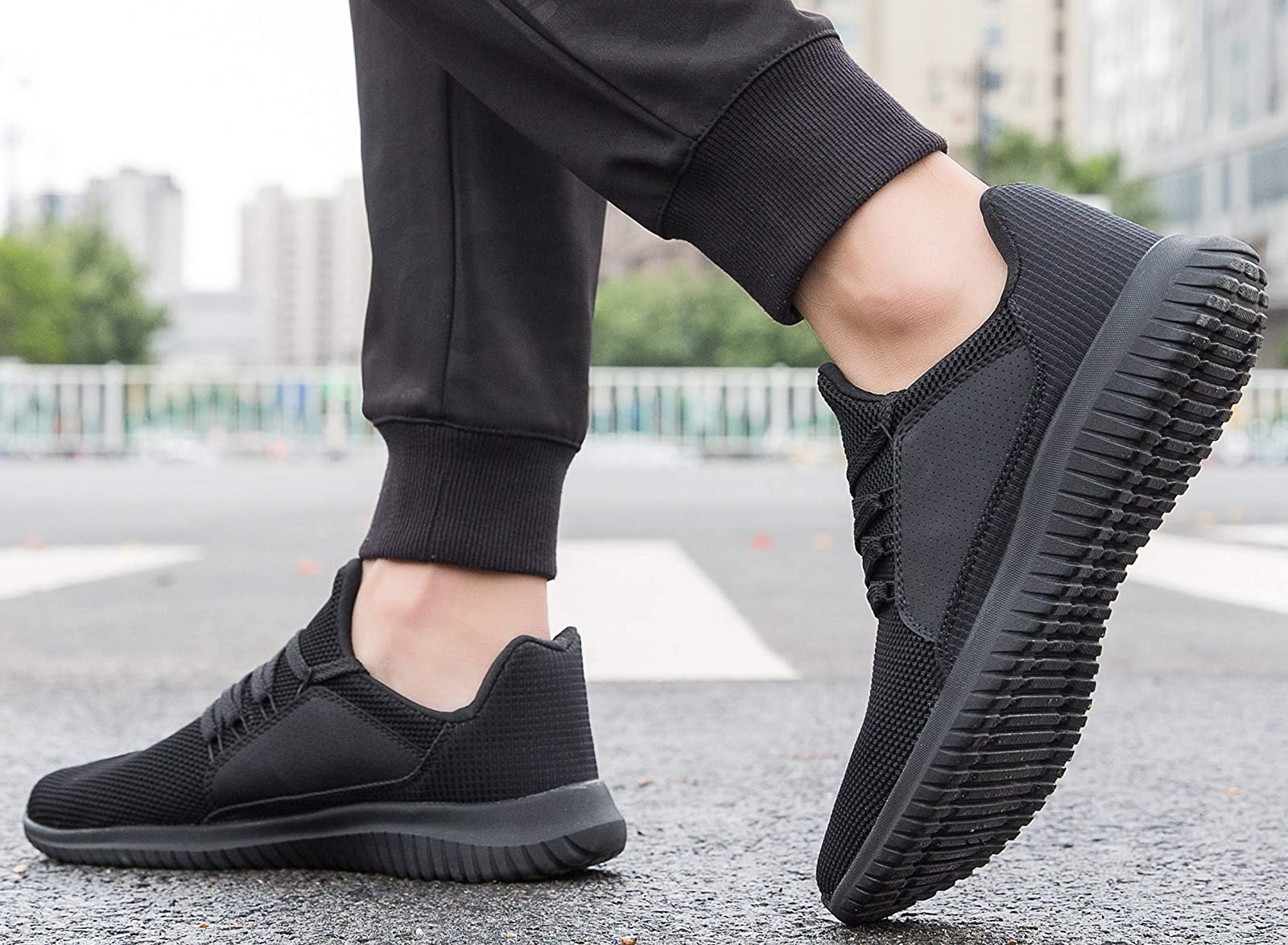Krystory Casual Running SneakersMen and Women Breathable - 6