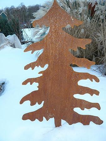 Rostiger Tannenbaum.Metalltechnik Dermbach Gmbh Weihnachtsbaum Edelrost 1 56m Aus Corten