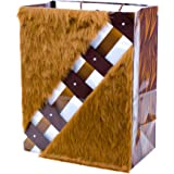 Hallmark Chewbacca Large Gift Bag with Faux Fur Accent