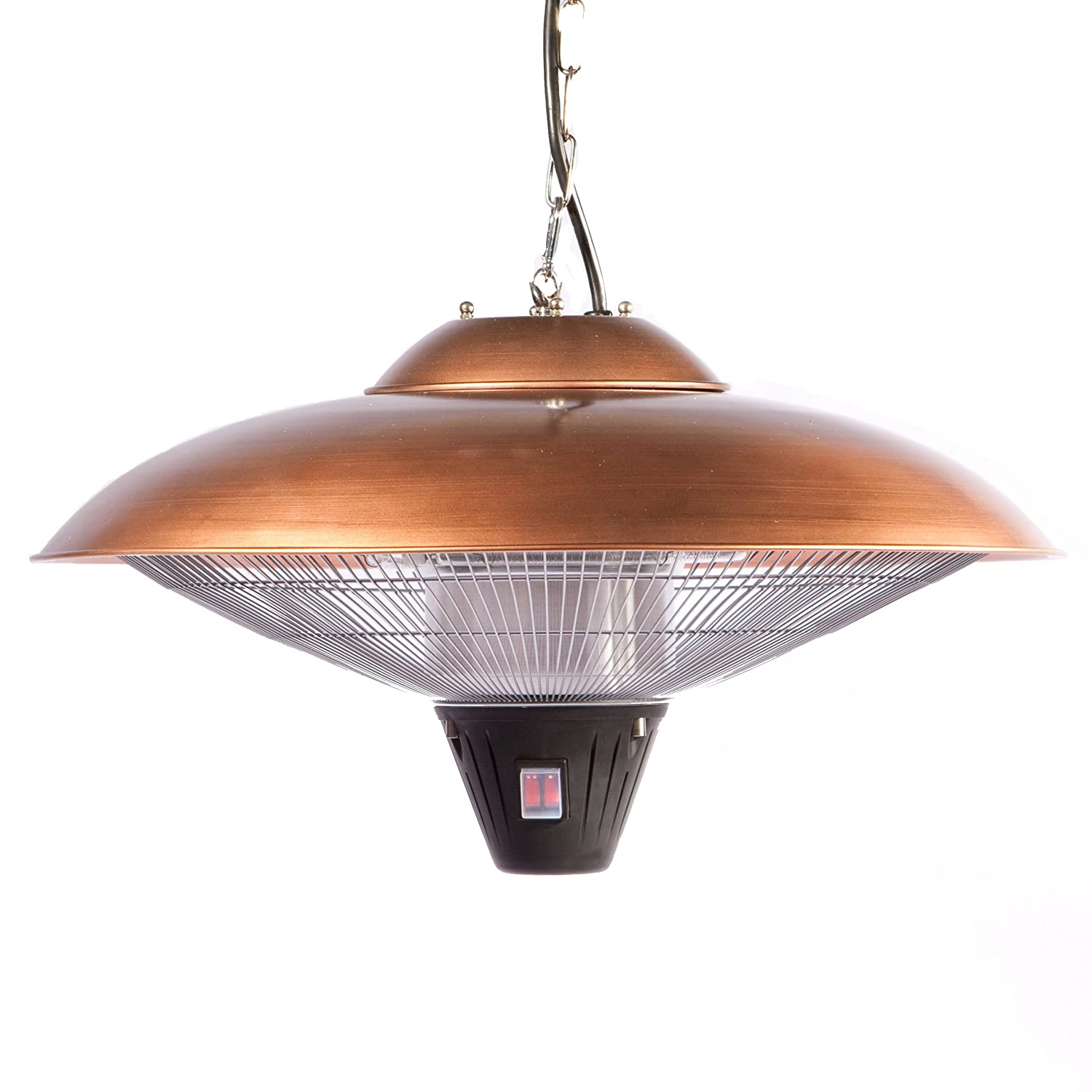 Amazon firesense hanging halogen patio heater finish amazon firesense hanging halogen patio heater finish copper portable outdoor heating garden outdoor arubaitofo Image collections